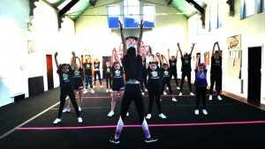 Alliance By Cheer athletes training together