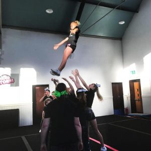Alliance By Cheer athletes learning new skills