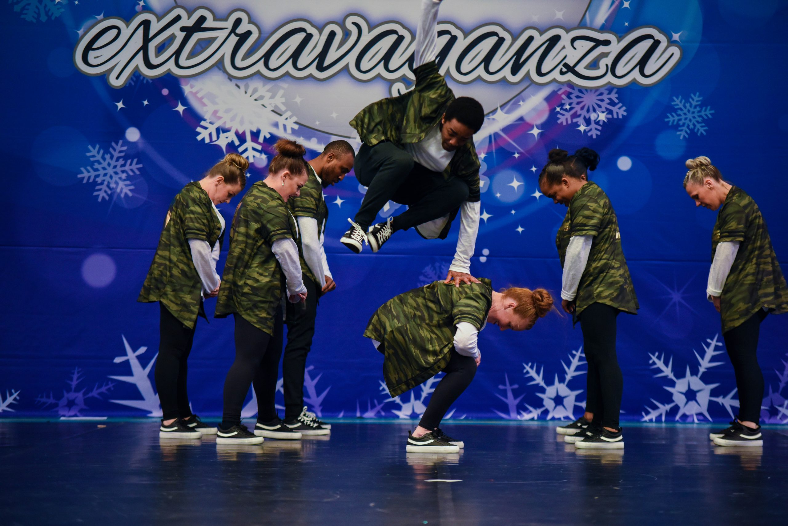 A Hip Hop team compete at ICE Northern Frostbite